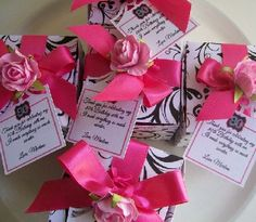 80th birthday party favors for your milestone celebration. See more favor and party ideas at one-stop-party-ideas.com.