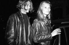 Johnny Depp et Kate Moss New York, 1994
