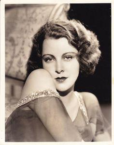 FRANCES DEE Beautiful ORIGINAL Vintage 1930s Paramount GLAMOUR Portrait Photo…