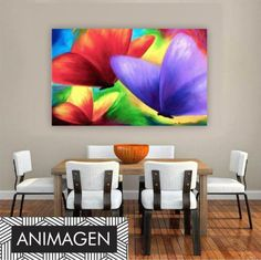 Flower Painting Canvas, Butterfly Painting, Canvas Wall Art, The Joy Of Painting, Modern Art Paintings, Art N Craft, Beautiful Drawings, Painting Inspiration, Decoration