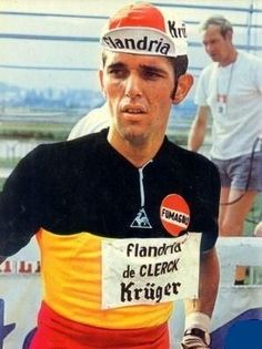Roger De Vlaemink as the Belgian national champ.   From: cycleboredom