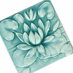 water lily tiles