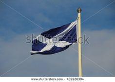 Die schottische Fahne mit dem Andreaskreuz gehört zu den ältesten Flaggen der Welt.