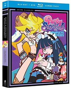 This saucy release from the sex-comedy anime series PANTY & STOCKING WITH GARTERBELT includes all 13 episodes of the show, following the story of two naughty angels who get kicked out of heaven, and s