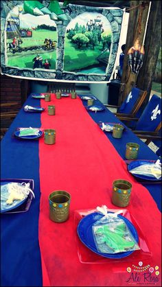 Knight Planning Ideas Birthday Party #ideas #supplies #idea #decorations #knight #medieval (5)