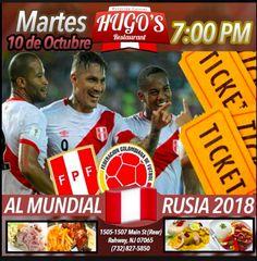 Hugo's Restaurant #PeruNJ: Perú vs. Colombia: la 'blanquirroja' se juega la v...