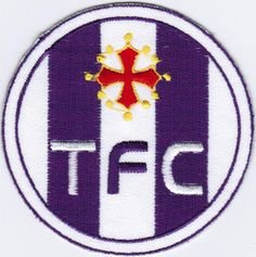 Ligue 1 Toulouse Football Club FC TFC French League France Soccer Badge Patch