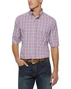 Ariat Plaid Dahlia Short Sleeve Shirt