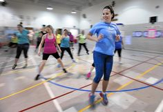 The gymnasium at Gunpowder Elementary School was filled with activity one recent afternoon, but not with the first-grade physical education class.