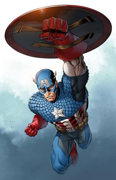 Captain America by Mike S. Miller