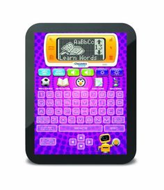 Discovery Kids Bilingual Teach and Talk Tablet  Purple *** Want additional info? Click on the image.