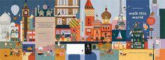 "Children's Book illustrated by Lotta Nieminen, ""WalkThisWorld"""