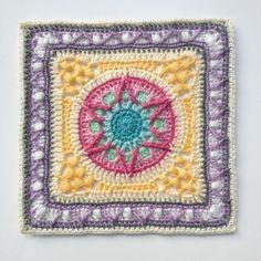 pretty crochet square pattern