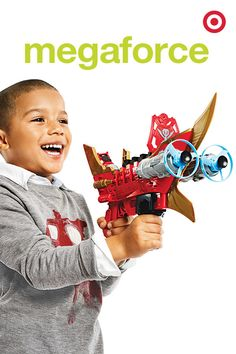 This Megaforce Cannon that packs a major punch. A must-have gift for Power Ranger fans, it also launches discs that stick to walls and windows. Cool.