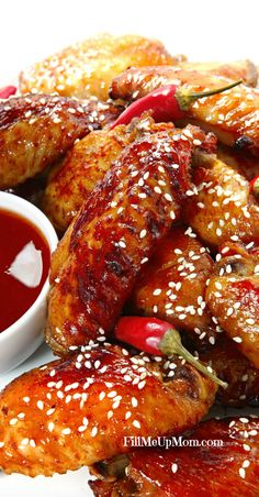 Detroit Hot Honey Chicken Wings Recipe