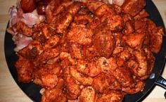 Tηγανιά συκώτι χοιρινό! Eύκολη και πεντανόστιμη συνταγή! Tandoori Chicken, Meat, Cooking, Ethnic Recipes, Food, Beef, Baking Center, Koken, Meals