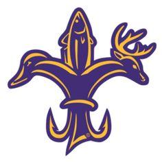 Louisiana Sportsman's Purple & Gold Decal