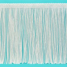 Expo Int'l 2 yards of 6 inch Chainette Fringe Trim, White Tassel Curtains, Couples Coupons, Exterior Trim, Sewing Trim, Flapper Style, Hipster Shirts, Discount Clothing, Arts And Crafts Supplies, Party Items
