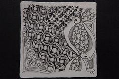 Whimsy by Kelly : Tangled day= Pattern! Start The Day, Tangled, Doodles, Pattern, Painting, Design, Zentangle Drawings, Rapunzel, Patterns