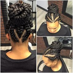 Hello Beautiful ladies.  Today we decided to give you some of selected hairstyle that is trendy all over Africa. Ghana weaving hairstyle...