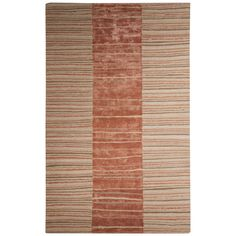 Jaipur Contemporary Tribal Pattern Taupe/ Wool and Area Rug
