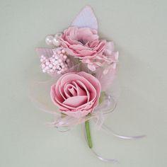 Vintage Wedding Corsage Pink - AXB001a : Vintage Corsage Pink