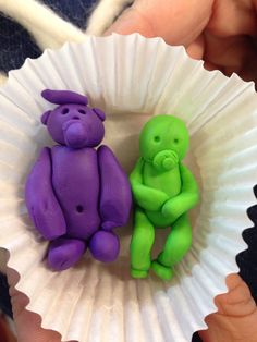 Play dough babies