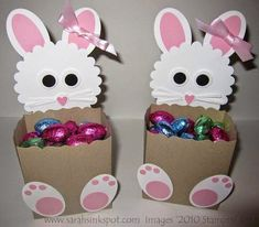Preschool Crafts for Kids*: Easy Easter Bunny Treats Basket Craft Hoppy Easter, Easter Bunny, Spring Crafts, Holiday Crafts, Kids Crafts, Easter Projects, Easter Ideas, Paper Easter Crafts, Diy Ostern