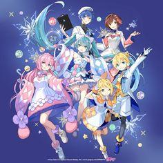 Vocaloid Characters, Cute Characters, Manga Anime, Anime Art, Kaito Shion, Mikuo, Anime Angel, Princesas Disney, Magical Girl