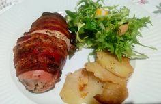 Pechugas de pollo y bacon al horno | Cocinar en casa es facilisimo.com