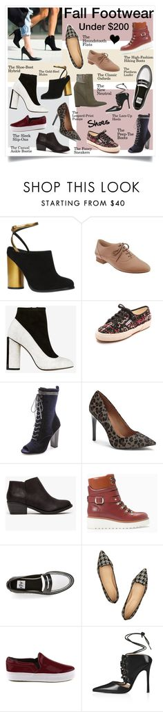 """THE INDECISIVE GIRL'S GUIDE TO FALL FOOTWEAR"" by elske88 ❤ liked on Polyvore featuring ALDO, French Connection, Superga, Steve Madden, Vince Camuto, Zara, Dolce Vita, J.Crew, ShoeDazzle and Schutz"