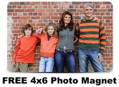 FREE 4x6 Photo Magnet! {just pay s/h} ~ these photo magnets would make a fun Mother's Day or Father's Day gift, too!