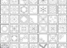 Laura Brown (lauraellenmcgre) on Pinterest : quilt stencils for hand quilting - Adamdwight.com