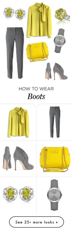 """Becky"" by office-girl on Polyvore featuring Chicwish, DKNY, Burberry, Allurez, Gianvito Rossi and Tacori"