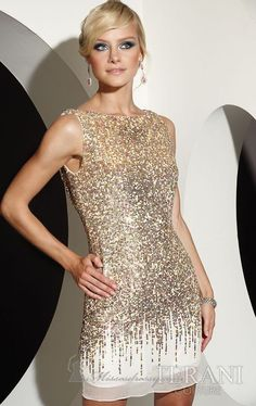 loove this dress esp the back. terani couture evening dress... would be great for christmas party new years party...