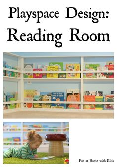 Designing Playspaces series: Our Reading Room FUN AT HOME WITH KIDS
