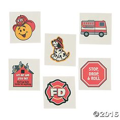 Fire Safety Tattoos