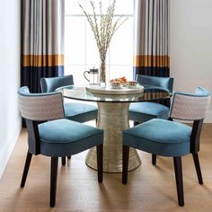 Design Projects - House of Gold Pelmet Designs, Decor, Dining Room Design, Furniture, Dining Chairs, Central London Apartments, Interior Design, Home Decor, Dining