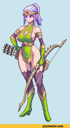 pixel art,gif,gif animation, animated pictures,archer,elf,nsfw,sex related or lewd, adult content, dirty and nasty jokes