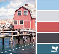 color docked. Colors of my future home <3 I want the Ocean as well as a patriotic feel to my home <3