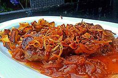 Leckerer Zwiebelrostbraten mit röschen Zwiebeln, ein tolles Rezept aus der Kategorie Rind. Bewertungen: 65. Durchschnitt: Ø 4,5.