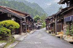 妻籠宿 Tsumago-juku Tsumagoyado by Araiguma Rascal, via Flickr