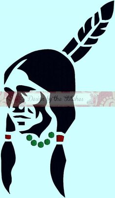 Indian Native American Tribal American by DesignByTheStitches, $2.99