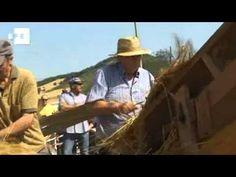 Un pueblo navarro recupera la siega y cosecha tradicional del cereal