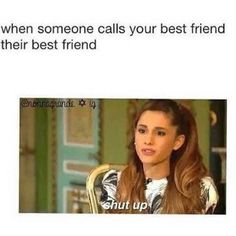 The sassiest Ariana Grande memes, jokes and pictures for everyday situations. Crazy Funny Memes, Really Funny Memes, Stupid Memes, Funny Relatable Memes, Haha Funny, Funny Jokes, Bff Quotes Funny, True Memes, Funny Minion