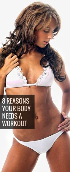 Losing inches shouldn't be your only motivation for hitting the gym. With regular training sessions, your entire body benefits. http://lindseyreviews.com/8-reasons-your-body-needs-a-workout/