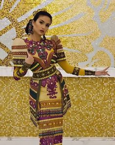 Image may contain: 1 person, standing Philippines Dress, Philippines Fashion, Philippines Culture, Filipino Culture, Filipino Art, Modern Filipiniana Gown, Filipino Fashion, Tribal Costume, Costumes Around The World
