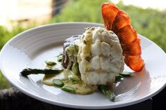 Filet Mignon with Lobster Oscar Topping