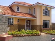 Ruiru, Kiambu, Kenya Single Family Home For Sale - 5 bedroom Maisonette for sale - IREL is the World Wide Leader in Kenya Real Estate Bungalow Haus Design, Duplex Design, Modern House Design, Model House Plan, Dream House Plans, Style At Home, House Designs In Kenya, Estilo Colonial, Buying A New Home