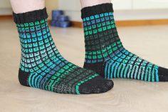 Ravelry: Ugly Duckling Socks pattern by Karin Aida